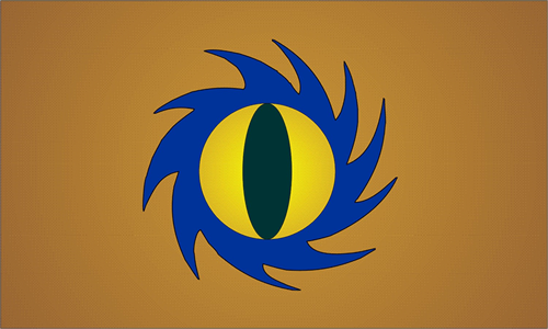Hidden Sun Clan Flag