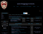 Screenshot of Ayenee forums in February 2006 from Internet Archive