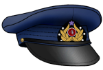 Star Army Officer Cap