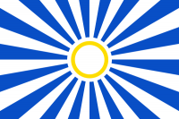 The planetary flag of Elysia Novus.