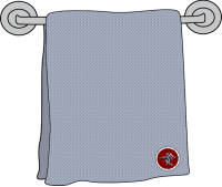A Type 40 Towel A variant in the storage position.