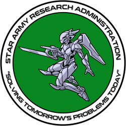The SARA Logo has a green background