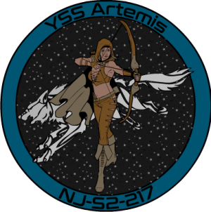 Artemis's ship patch