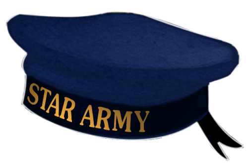 Star Army Cap Illustration