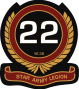 stararmy:symbols:patches:22nd_legion_patch.png