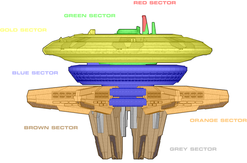 Kōdaina Minato-Class Internal Sector Map